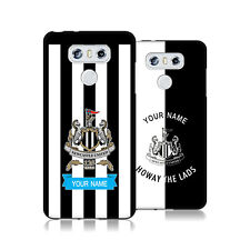 PERSONALIZZATA NEWCASTLE UNITED FC 2017/18 COVER IN GEL NERA PER LG TELEFONI