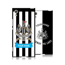 PERSONALIZZATA NEWCASTLE UNITED FC 2017/18 COVER IN GEL NERA PER SONY TELEFONI