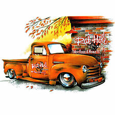 VINTAGE CHEVROLET CAMION PICK-UP kustom Classic CHEVY T-shirt 1206 W