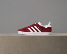 X Adidas Kids Gazelle - Collegiate Burgundy / White