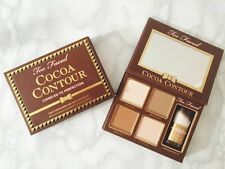 Too Faced Cocoa Face Contour Kit Make Up Highlighter Bronzer Palette UK Seller