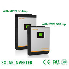 Solare inverter 2400w 24v 3KVA with PV charger 50A 60Amp and AC charger 30Amp