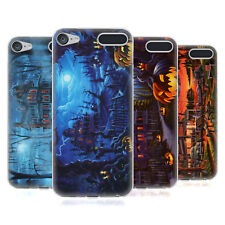 OFFICIAL GENO PEOPLES ART HALLOWEEN SOFT GEL CASE FOR APPLE iPOD TOUCH MP3