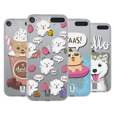 HEAD CASE DESIGNS LIL PUPPIES SOFT GEL CASE FOR APPLE iPOD TOUCH MP3