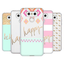 OFFICIAL MONIKA STRIGEL GOLD AND HAPPY SOFT GEL CASE FOR LG PHONES 1