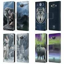 OFFICIAL ANNE STOKES WOLVES LEATHER BOOK WALLET CASE COVER FOR SAMSUNG PHONES 2