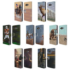 OFFICIAL GENO PEOPLES ART LIFE LEATHER BOOK WALLET CASE FOR SAMSUNG PHONES 2