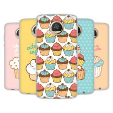 HEAD CASE DESIGNS CUPCAKES SOFT GEL CASE FOR MOTOROLA PHONES