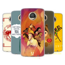 HEAD CASE DESIGNS YEAR OF THE HORSE SOFT GEL CASE FOR MOTOROLA PHONES