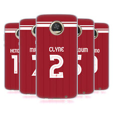 LIVERPOOL FC LFC PLAYERS HOME KIT 17/18 GROUP 1 GEL CASE FOR MOTOROLA PHONES