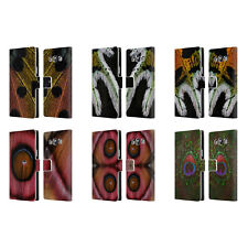 OFFICIAL ELENA KULIKOVA PLUMES LEATHER BOOK WALLET CASE FOR SAMSUNG PHONES 3