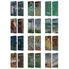 OFFICIAL MASTERS COLLECTION PAINTINGS 2 LEATHER BOOK CASE FOR SAMSUNG PHONES 3