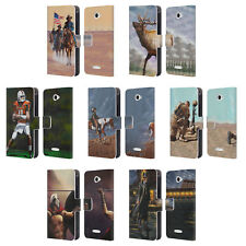 OFFICIAL GENO PEOPLES ART LIFE LEATHER BOOK WALLET CASE COVER FOR SONY PHONES 2