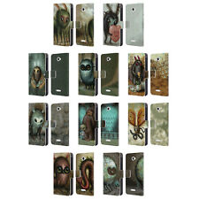 OFFICIAL JASON LIMON ALIENS LEATHER BOOK WALLET CASE COVER FOR SONY PHONES 2