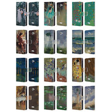 OFFICIAL MASTERS COLLECTION PAINTINGS 2 LEATHER BOOK CASE FOR SONY PHONES 2