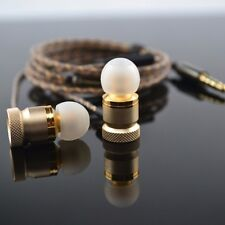 3.5mm InEar Earphones Super Clear Bass Metal Headphone For MP3/4 Noise Isolation