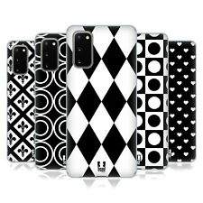 HEAD CASE DESIGNS BLACK AND WHITE PATTERNS SOFT GEL CASE FOR SAMSUNG PHONES 1