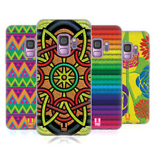 HEAD CASE DESIGNS EMBROIDERY PRINTS SOFT GEL CASE FOR SAMSUNG PHONES 1