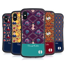 OFFICIAL FRIDA KAHLO PORTRAITS AND PATTERNS HYBRID CASE FOR APPLE iPHONES PHONES