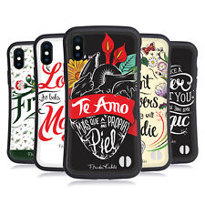 OFFICIAL FRIDA KAHLO TYPOGRAPHY HYBRID CASE FOR APPLE iPHONES PHONES
