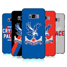 UFFICIALE CRYSTAL PALACE FC THE EAGLES COVER IN GEL NERA PER SAMSUNG TELEFONI 1