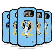 OFFICIAL MANCHESTER CITY MAN CITY FC PLAYERS HYBRID CASE FOR SAMSUNG PHONES