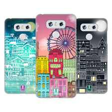 HEAD CASE DESIGNS CITTÀ SCARABOCCHIO COVER RETRO RIGIDA PER LG TELEFONI 1