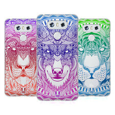 HEAD CASE DESIGNS FACCE ANIMALI MANDALA COVER RETRO RIGIDA PER LG TELEFONI 1