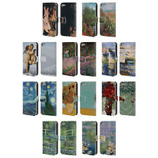 MASTERS COLLECTION PAINTINGS 1 LEATHER BOOK WALLET CASE FOR APPLE iPOD TOUCH MP3