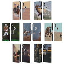 OFFICIAL GENO PEOPLES ART LIFE LEATHER BOOK WALLET CASE FOR APPLE iPHONE PHONES