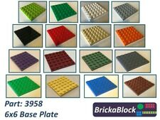 NEW Lego Part 3958 6x6 Base Plate Choose 1,2,3,4,5 or 6 (ALL COLOURS SAME PRICE)