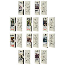 OFFICIAL 1D TAPE SNAPSHOTS LEATHER BOOK WALLET CASE FOR MICROSOFT NOKIA PHONES