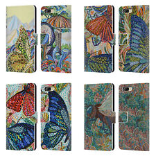 OFFICIAL ERIKA POCHYBOVA INSECTS LEATHER BOOK WALLET CASE FOR BLACKBERRY ONEPLUS