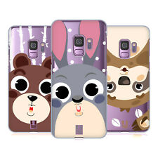 HEAD CASE DESIGNS CUTE ANIMAL FACES HARD BACK CASE FOR SAMSUNG PHONES 1