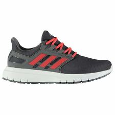 adidas Energy Cloud 2 Running Shoes Mens Grey/Red/Wht Jogging Trainers Sneakers