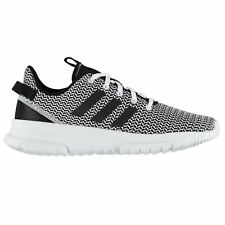 adidas Cloudfoam Racer Running Shoes Mens Grey/Blk/Wht Jogging Trainers Sneakers