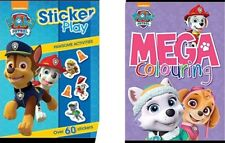 PAW PATROL ACTIVITY BOOKS COLOURING AND STICKER BOOK FOR CHILDREN ENTERTAINMENT