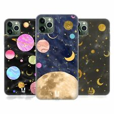 HEAD CASE DESIGNS MARBLE GALAXY SOFT GEL CASE FOR APPLE iPHONE PHONES