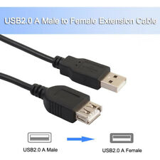 1M 2M 3M 5M USB Extension Cable USB Cable Male to Female Extender Lead Adapter