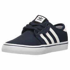 Adidas Seeley Collegiate Marinefants Toile Skateboarding Lace Up Chaussures
