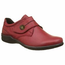 Josef Seibel Fabienne 05 Hibiscus Women Leather Loafers Low-Profile Casual Shoes
