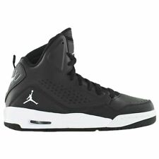 Nike Jordan SC-3 Black White Mens Leather Basketball Sneakers Hi-tops Trainers