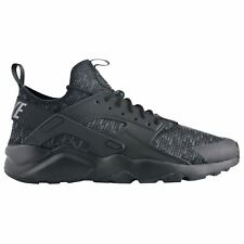 Nike Air Huarache Run Ultra SE Black Dark Grey Mens Mesh Laced Sneakers Trainers