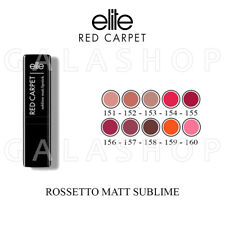 ELITE BEAUTY LIPSTICK RED CARPET ROSSETTO MATT SUBLIME VARI COLORI