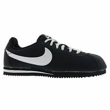 Nike Cortez Black White Youths Trainers
