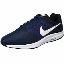 Nike Downshifter 7 Midnight Navy Dark Obsidian Mens Casual Mesh Trainers