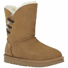 Ugg Australia Constantine Chestnut Womens Suede Mid-Calf Pull-on Winter Boots