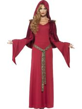 Deluxe Sexy Red High Priestess Ladies Halloween Fancy Dress Costume Size 8 - 18