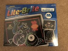 ©2001 LITE BRITE Monsters Inc Picture Refill Set SEALED - 12 Sheets