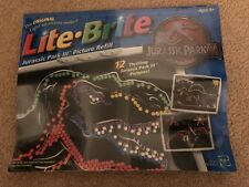 Jurassic Park III LITE BRITE PIcture Refill UNOPENED NEW OLD STOCK sealed
